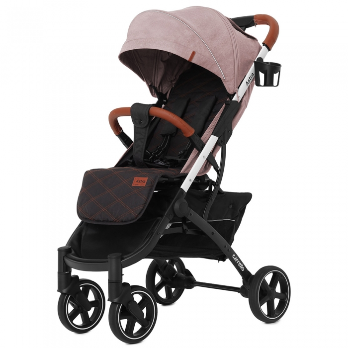 Коляска прогулянкова CARRELLO Astra CRL-5505 Apricot Pink (Каррелло Астра)
