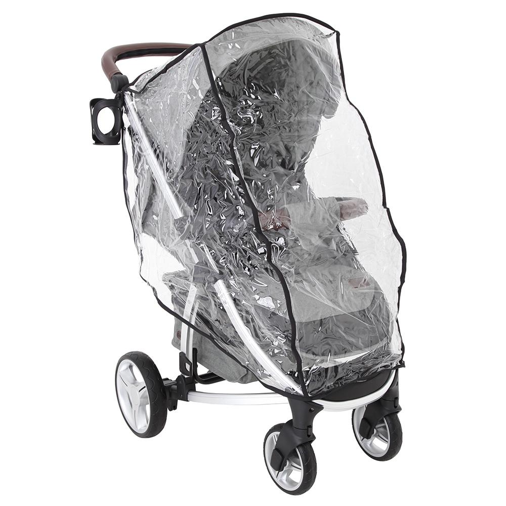 Дощовик універсальний для прогулянкової коляски, розмір S