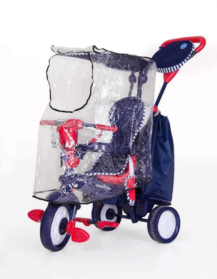 Дощовик на дитячий триколісний велосипед