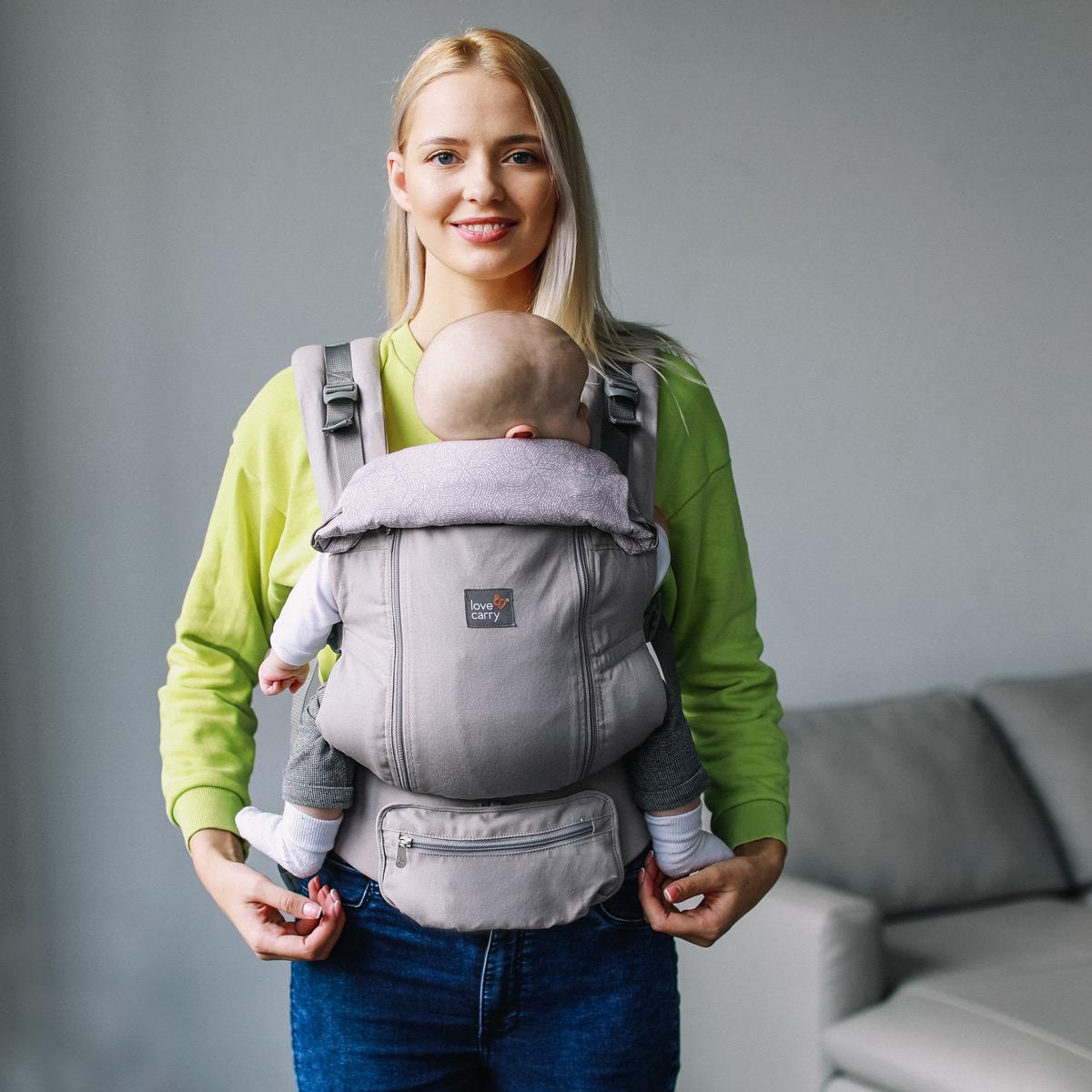 Ерго-рюкзак AIR X Айворі
