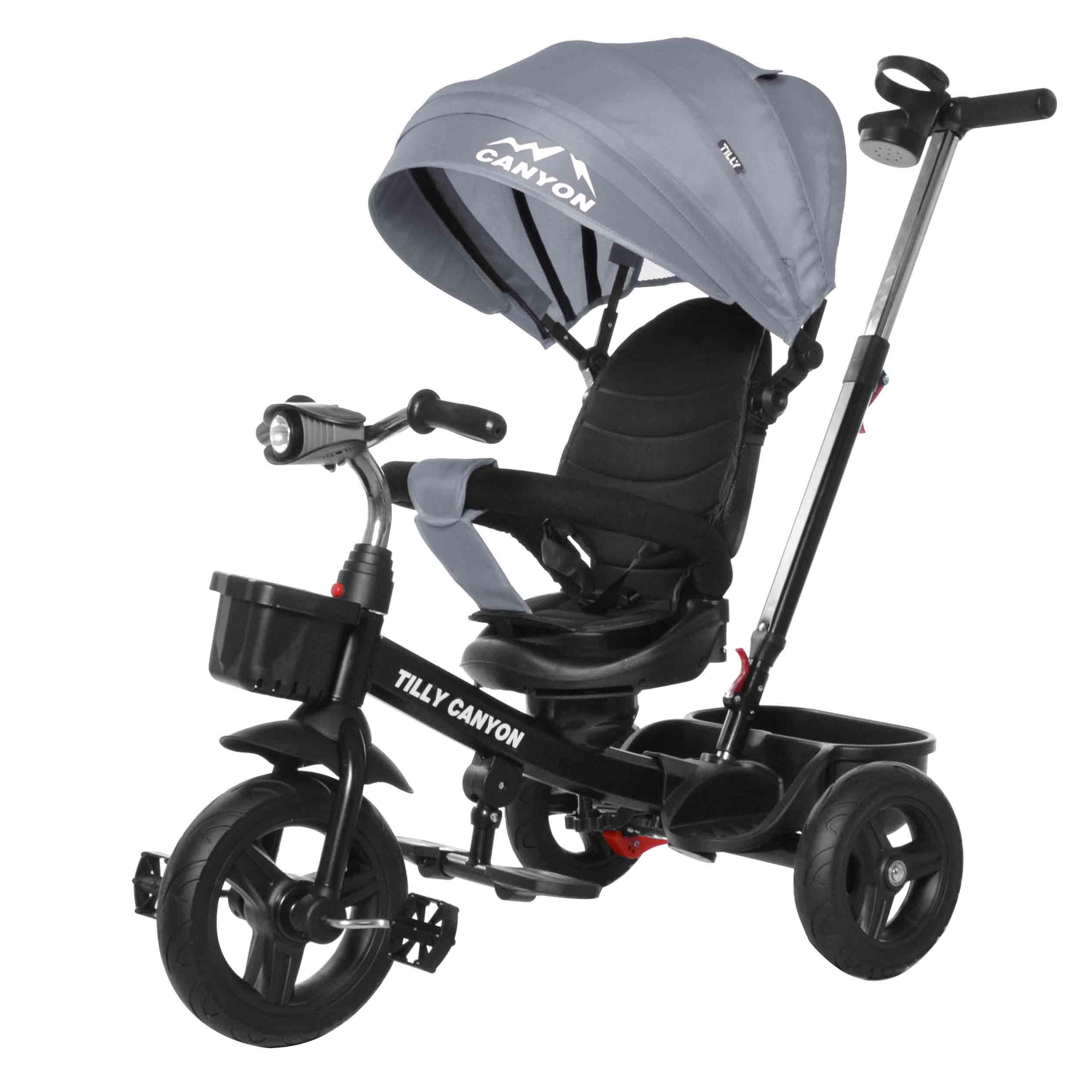 Велосипед триколісний TILLY CANYON T-384 Сірий