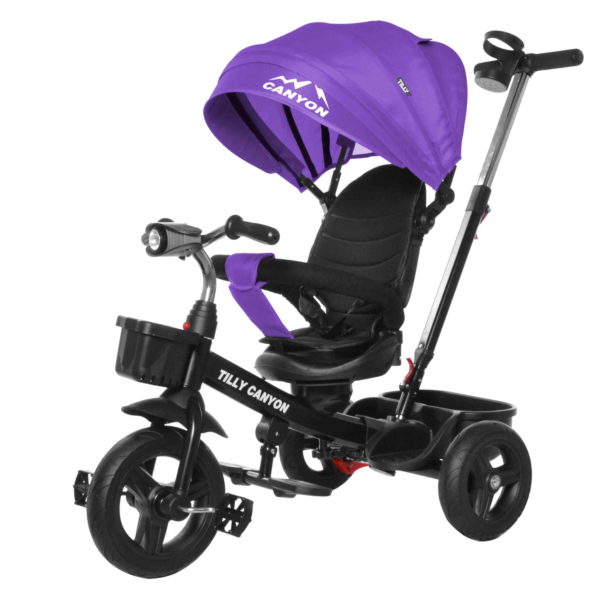 Велосипед триколісний TILLY CANYON T-384 Фіолетовий