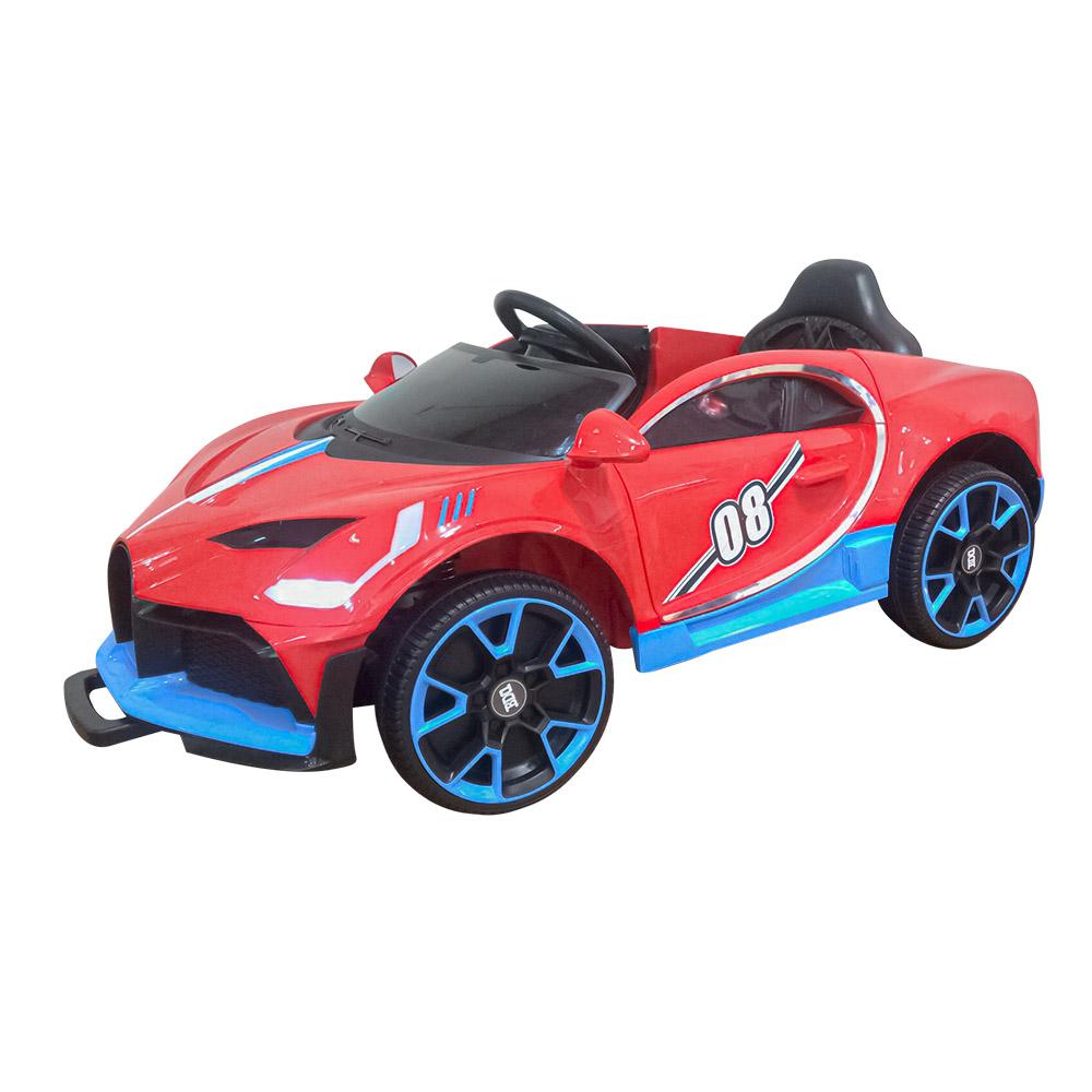 Ел-мобіль T-7657 EVA RED легковий на Bluetooth (м`які колеса) Червоний