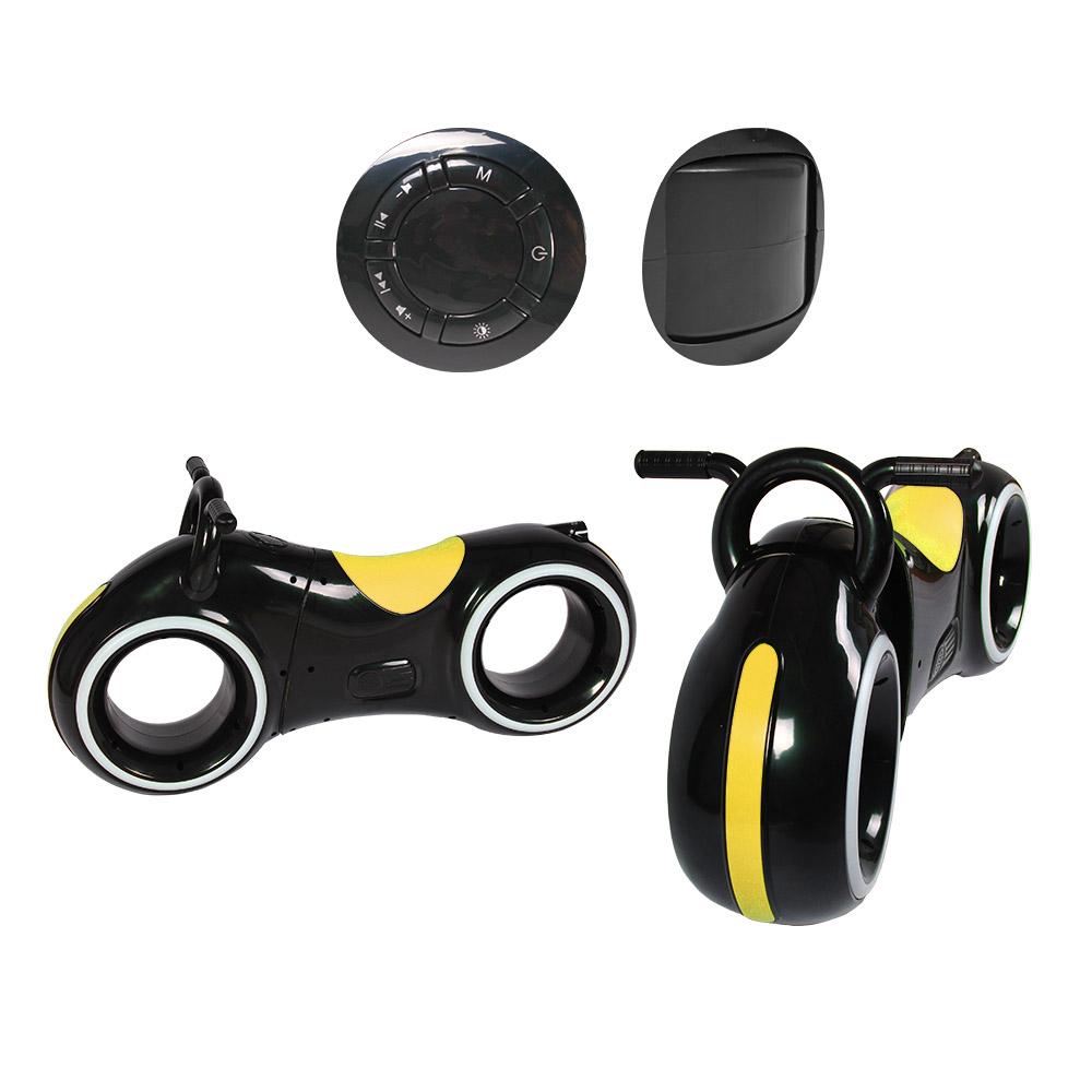 Біговел GS-0020 Black/Yellow  Bluetooth LED-підсвітка
