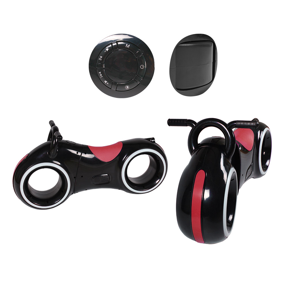 Біговел GS-0020 Black/Red  Bluetooth LED-підсвітка