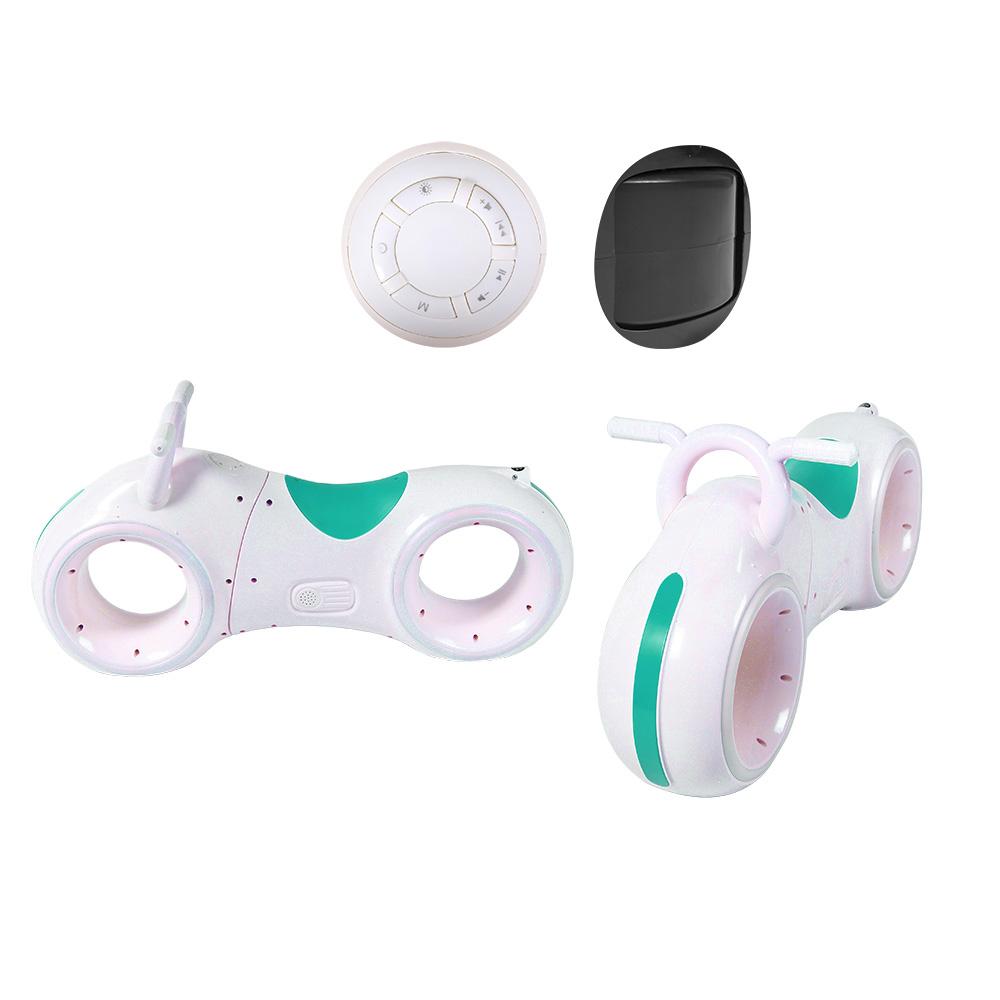 Біговел GS-0020 White/Green   Bluetooth LED-підсвітка
