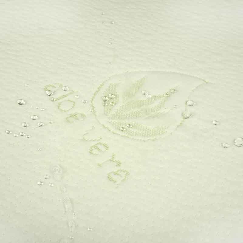 180х190 см Жаккардовий водонепроникний наматрацник Aloe Vera на гумці