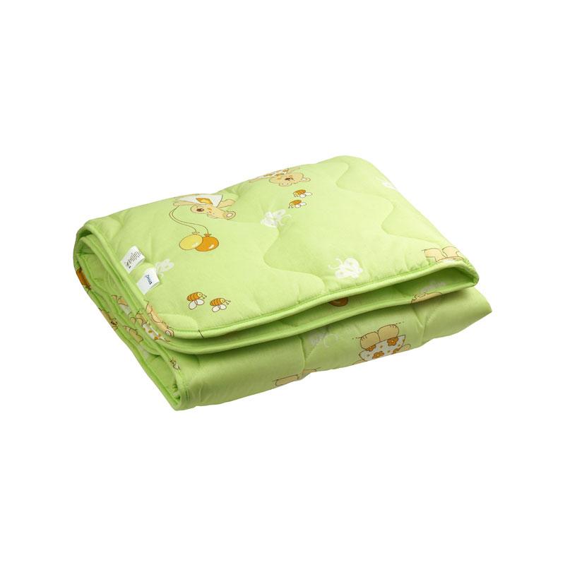 Дитяча вовняна ковдра 320.02ШУ салатова